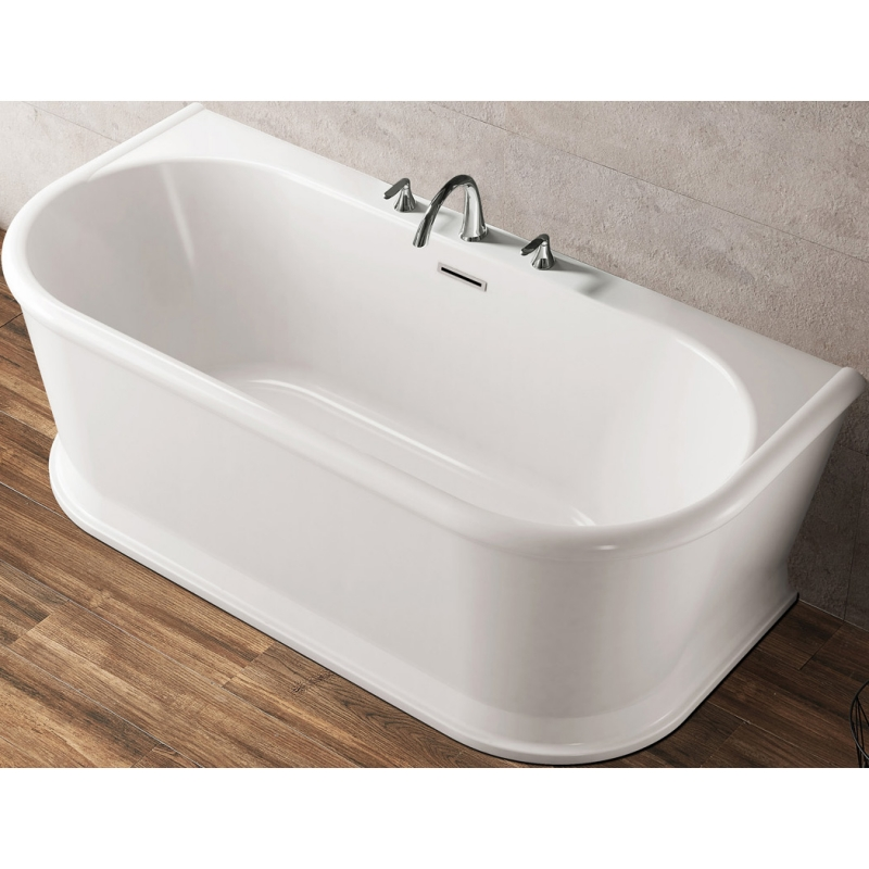 Акриловая ванна BelBagno BB408-1700-800 170х80 без гидромассажа акриловая ванна belbagno 170x85 bb42 1700