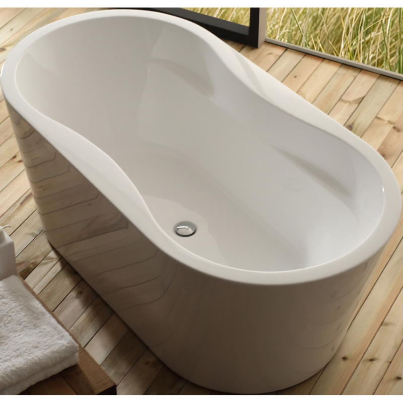 Акриловая ванна BelBagno BB407-1700-800 170х80 без гидромассажа акриловая ванна belbagno bb80 1700