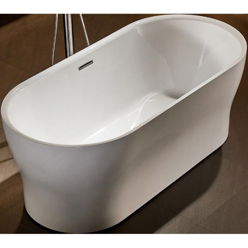 Акриловая ванна BelBagno BB405-1700-800 170х80 без гидромассажа акриловая ванна belbagno bb80 1700