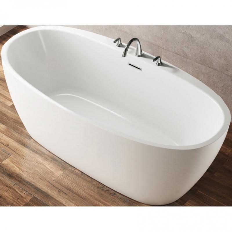 Акриловая ванна BelBagno BB404-1700-800 170х80 без гидромассажа акриловая ванна belbagno bb401 1700 800 170x80