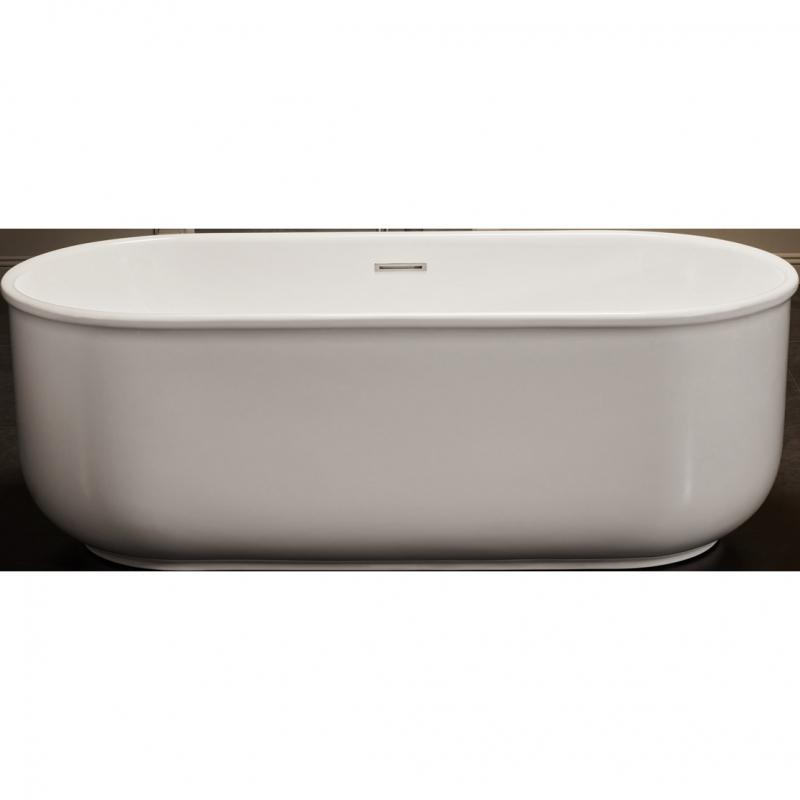 Акриловая ванна BelBagno BB401-1500-800 150х80 без гидромассажа акриловая ванна belbagno bb401 1700 800 170x80