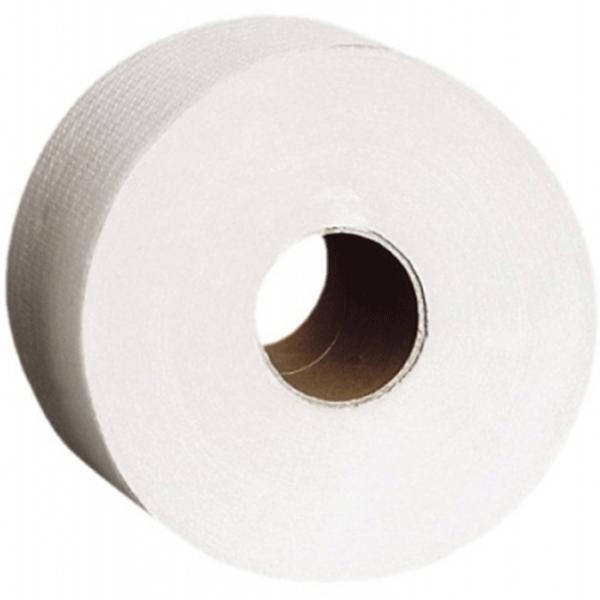 Туалетная бумага Merida Top Mini PTB201 Белая туалетная бумага merida top тбт503 белый