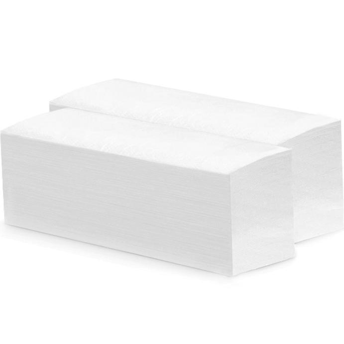 Бумажные полотенца Merida V-Top БП15 Белые