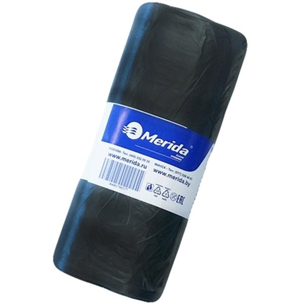 Мешки для мусора Merida Economy МЭ35ч Черные мешки для мусора концепция быта комплект 2 упаковки по 20 шт 40 мешков 65 л черные в рулоне 20 шт пвд 25 мкм 50х80 см для урн d 30 h 51