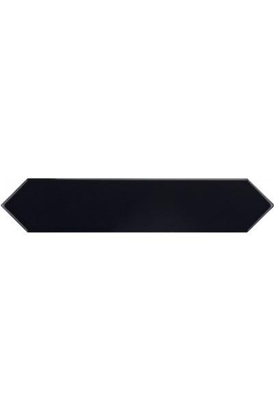 Керамическая плитка Equipe Arrow Black настенная 5х25 см