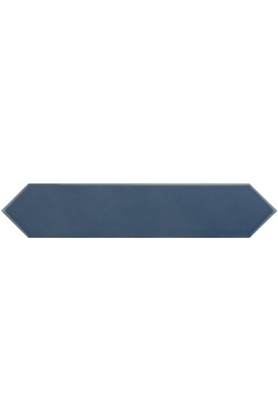 Керамическая плитка Equipe Arrow Blue Velvet настенная 5х25 см