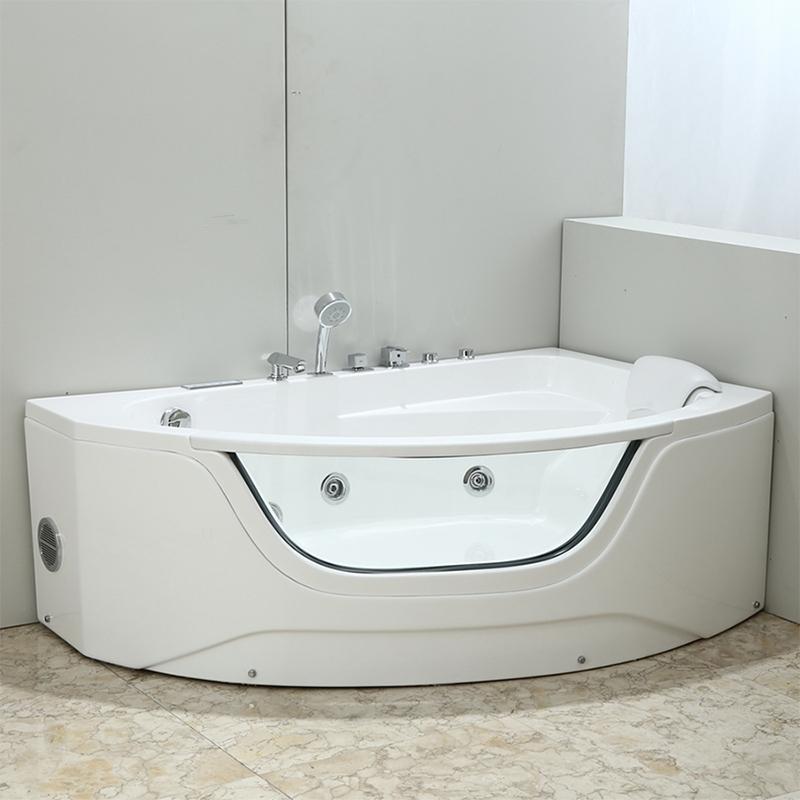 Акриловая ванна Black&White Galaxy 160x100 GB5008-R с гидромассажем