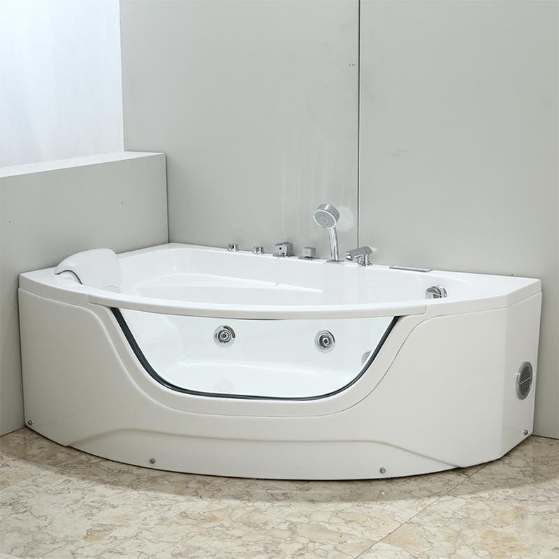 Акриловая ванна Black&White Galaxy 160x60 GB5008-L с гидромассажем цена