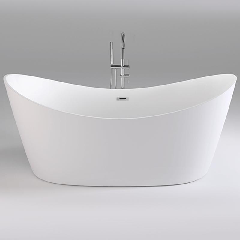 Акриловая ванна Black&White Swan 180x80 SB104 без гидромассажа