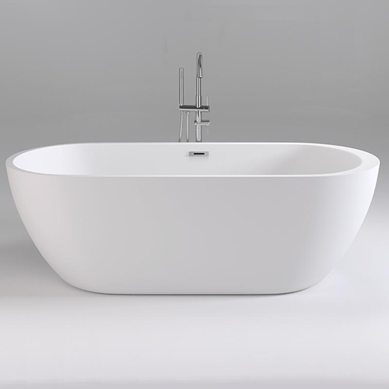 Акриловая ванна Black&White Swen 170x80 SB105 без гидромассажа