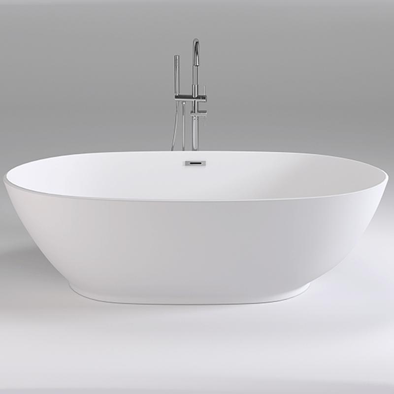 Акриловая ванна Black&White Swan 180x90 SB106 без гидромассажа
