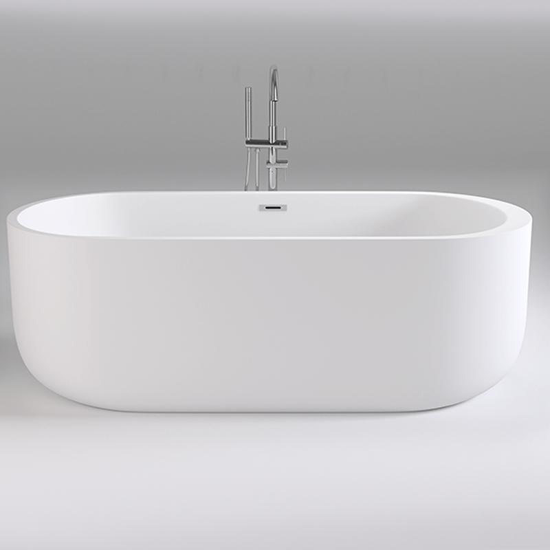 Акриловая ванна Black&White Swan 170x80 SB109 без гидромассажа акриловая ванна riho lusso plus 170x80 без гидромассажа ba1200500000000