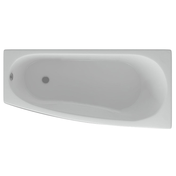 Акриловая ванна Акватек Пандора 160х75 R с гидромассажем плоские форсунки Бронза акриловая ванна акватек пандора 160х75 r с гидромассажем плоские форсунки бронза