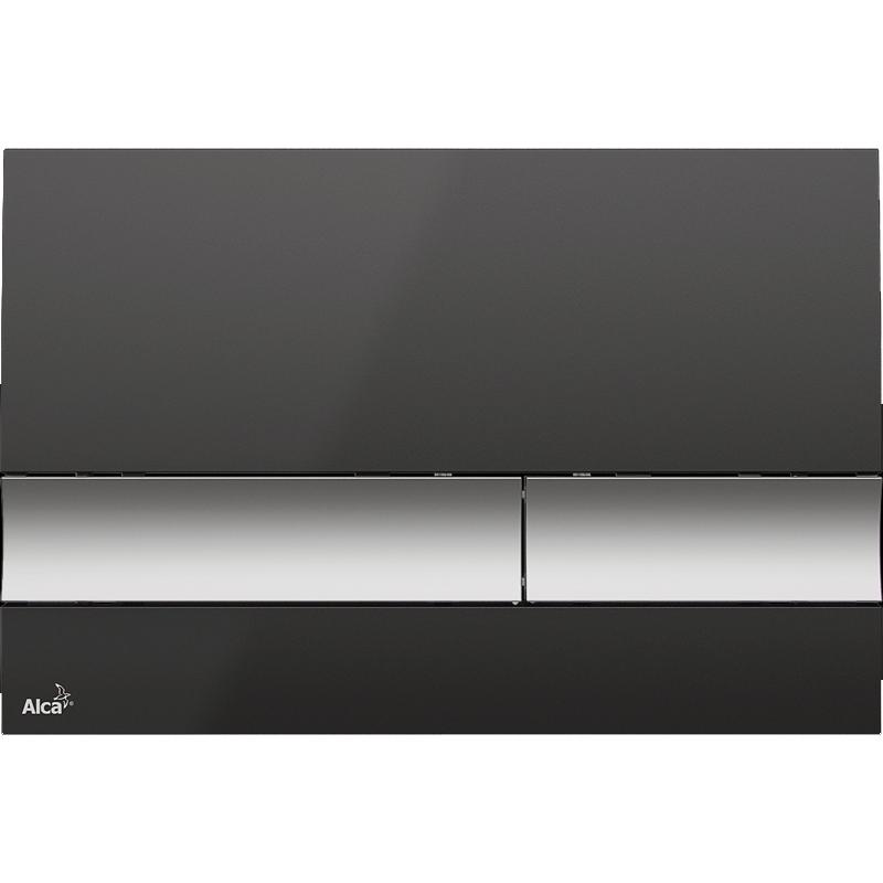 Клавиша смыва Alcaplast Basic M1728-2 Черная Матовый хром аппарат аргонно дуговой сварки aurorapro ironman 500 ac dc pulse