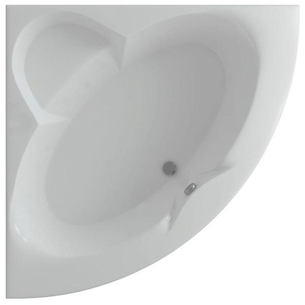 Акриловая ванна Акватек Поларис 140х140 с гидромассажем плоские форсунки Бронза акриловая ванна акватек пандора 160х75 r с гидромассажем плоские форсунки бронза