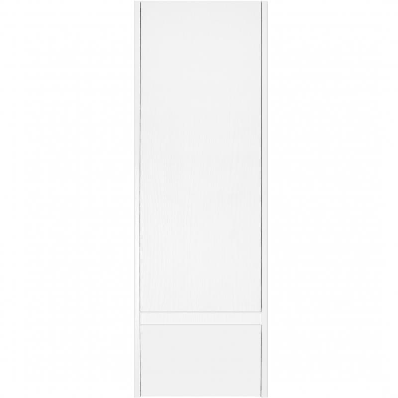 Шкаф пенал Style Line 36 Plus ЛС-00000672 подвесной Белая Осина Белый лакобель шкаф пенал bellezza рокко 35 подвесной красный белый