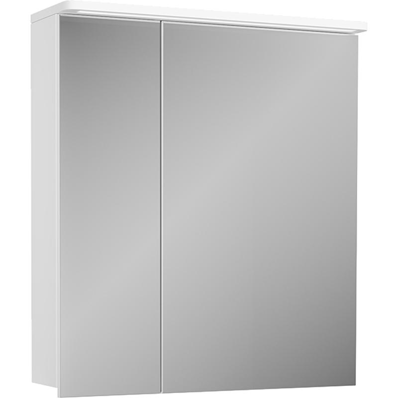 Зеркальный шкаф Diborg Katarine 60 77.4103 с подсветкой зеркальный шкаф bellezza миа 85 с подсветкой l белый