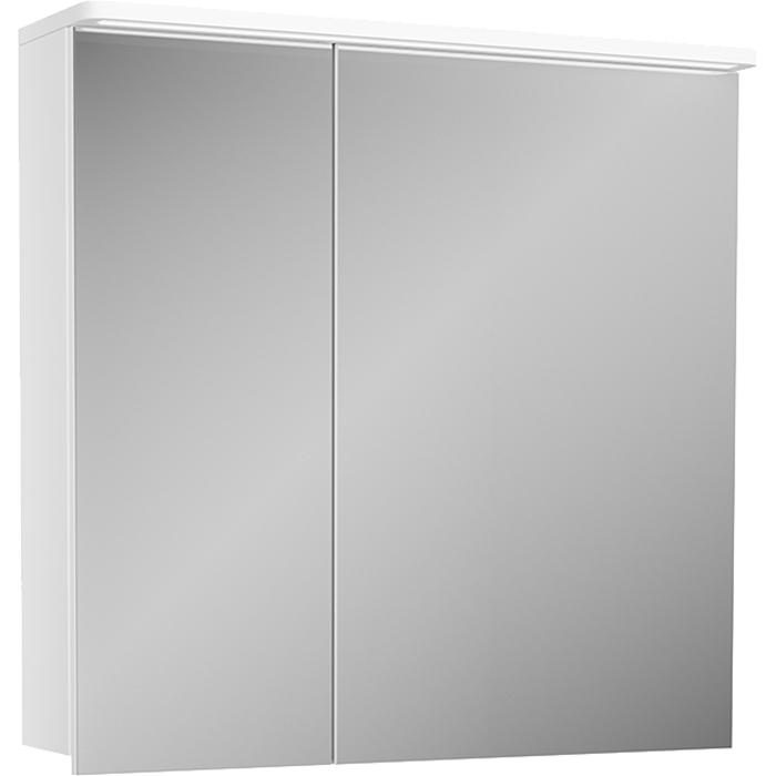 Зеркальный шкаф Diborg Katarine 70 77.4104 с подсветкой зеркальный шкаф bellezza миа 85 с подсветкой l белый