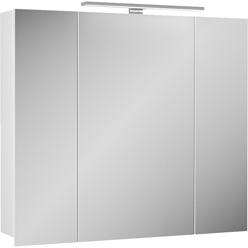 Зеркальный шкаф Diborg Lande 80 77.2105 Белый матовый фото