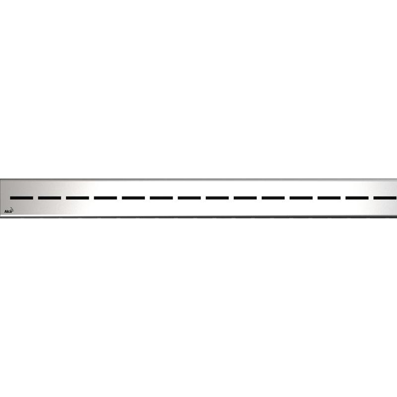 Решетка для лотка Alcaplast ROUTE-750L Хром глянцевый решетка alcaplast code нержавеющая сталь глянцевая code 750l