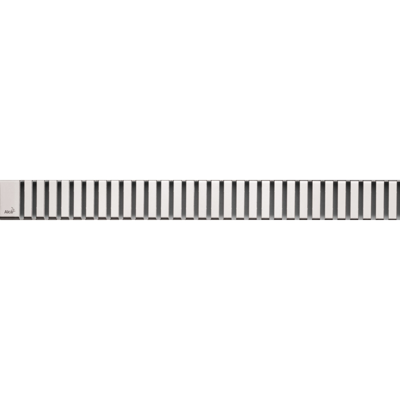 Решетка для лотка Alcaplast LINE-850L Хром глянцевый