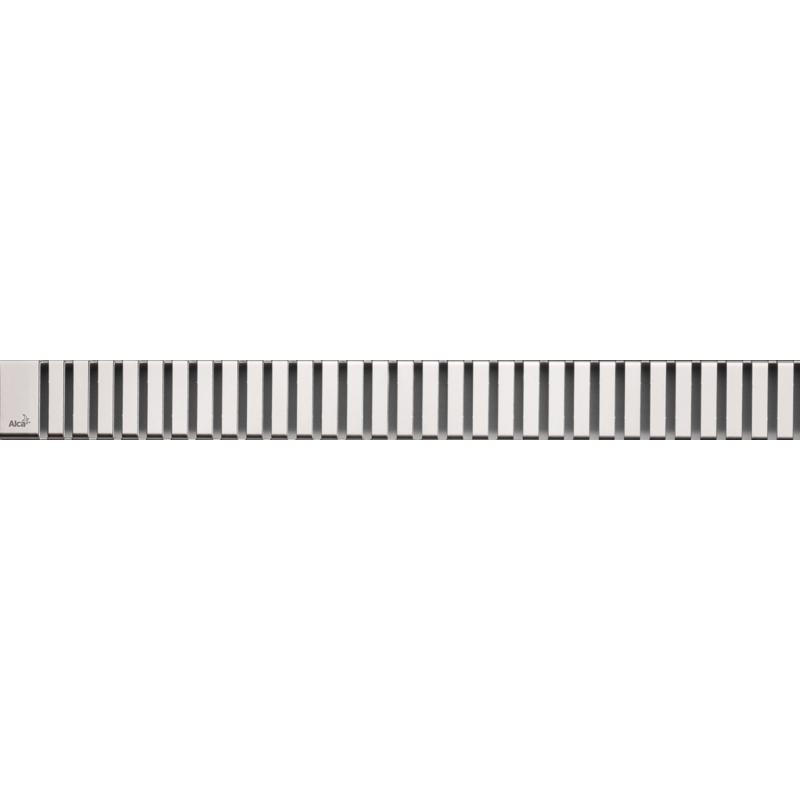 Решетка для лотка Alcaplast LINE-1150L Хром глянцевый решетка для лотка alcaplast cube 1150l хром глянцевый