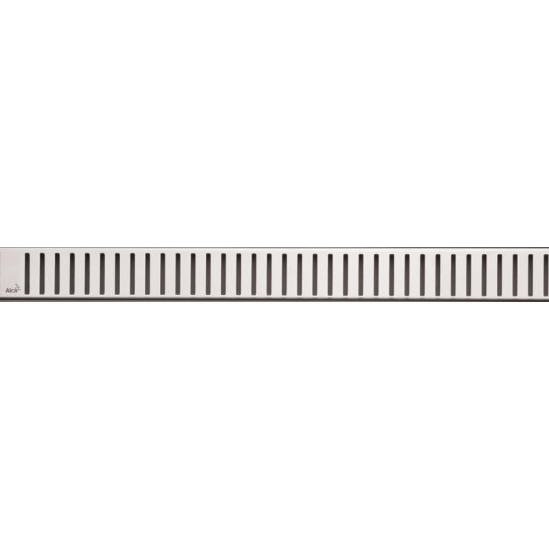 цена на Решетка для лотка Alcaplast PURE-1050L Хром глянцевый