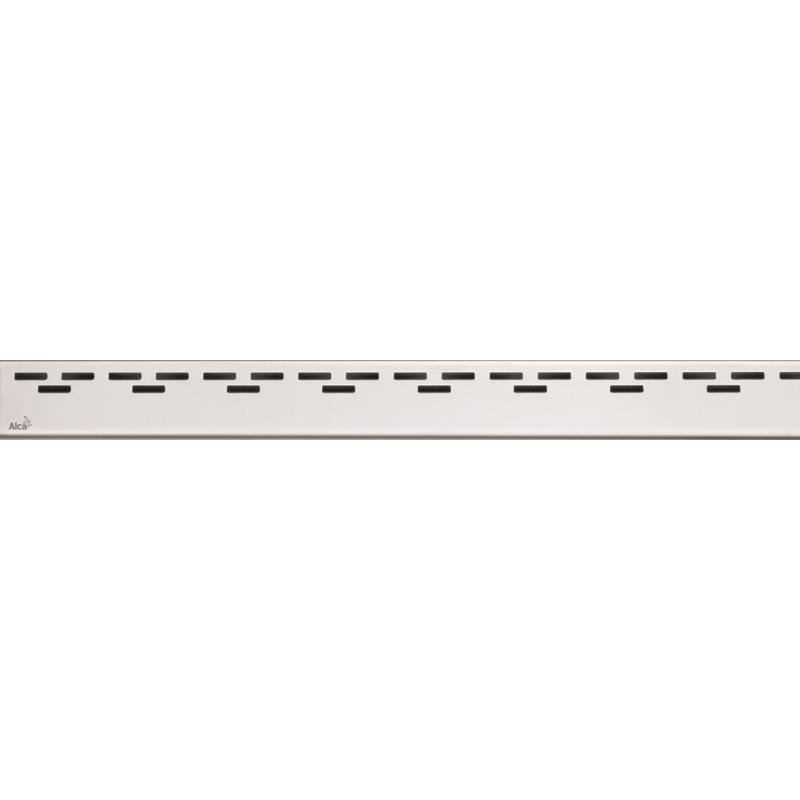 Решетка для лотка Alcaplast HOPE-1150L Хром глянцевый решетка для лотка alcaplast cube 1150l хром глянцевый