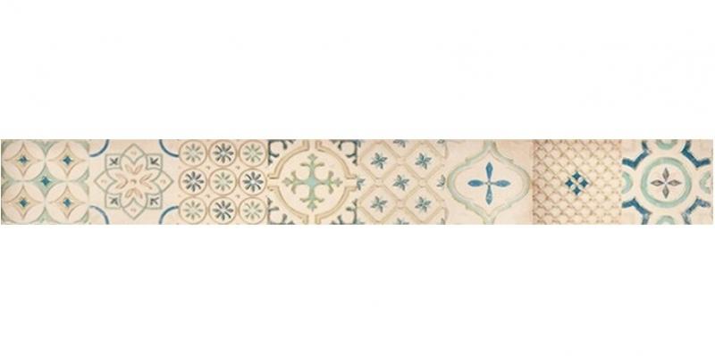 Керамический бордюр Lasselsberger Ceramics Парижанка Мульт. 1506-0173 7,5х60 см