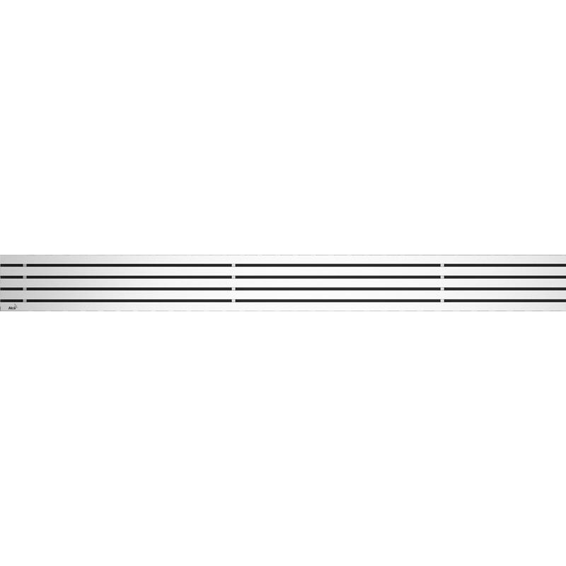 Решетка для лотка Alcaplast STREAM-750M Хром матовый