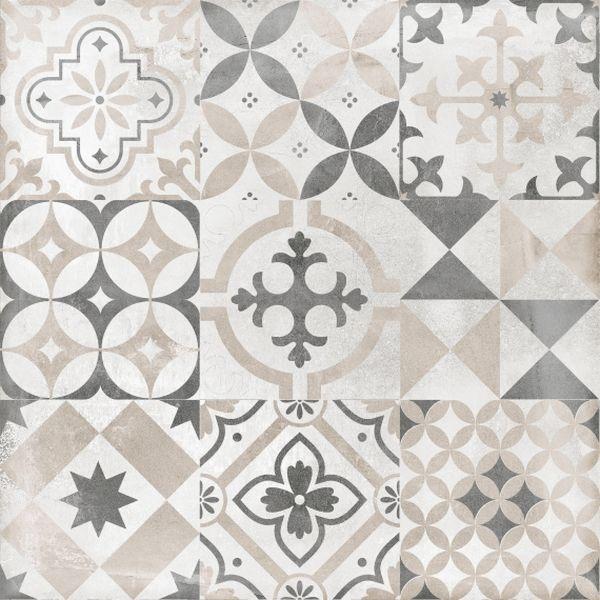 Керамогранит Lasselsberger Ceramics Цемент стайл орнамент 6046-0359 45х45 см