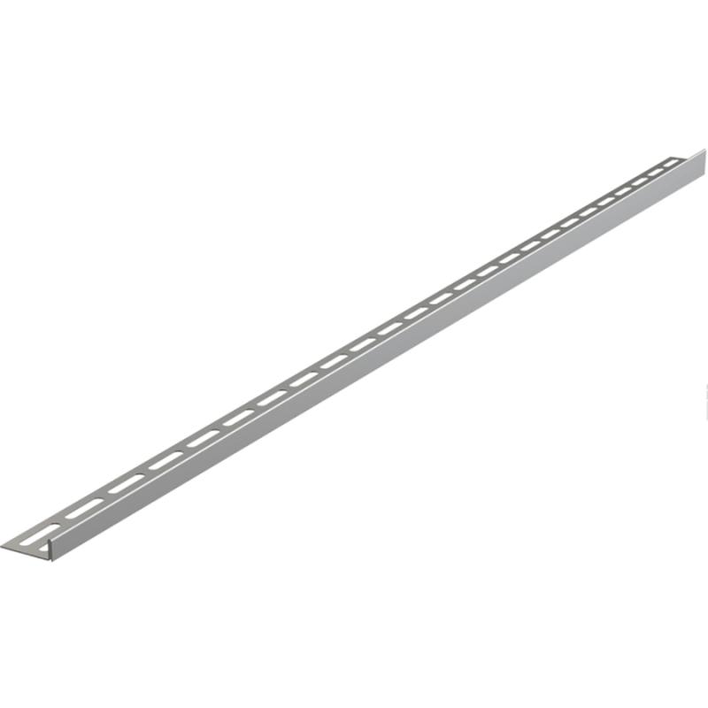 Рейка для пола Alcaplast APZ901M/1000 Хром матовый рейка для пола alcaplast apz906m 1200 универсальная хром матовый