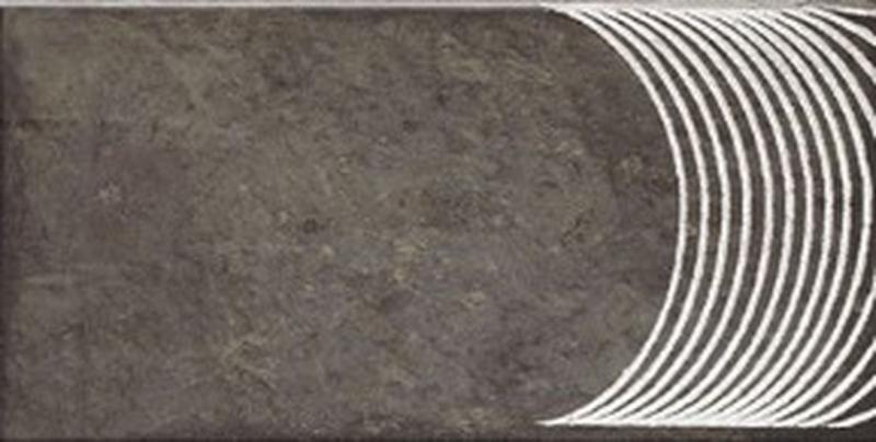 Керамическая плитка Mainzu Rivoli Alpe Black настенная 15х30 см