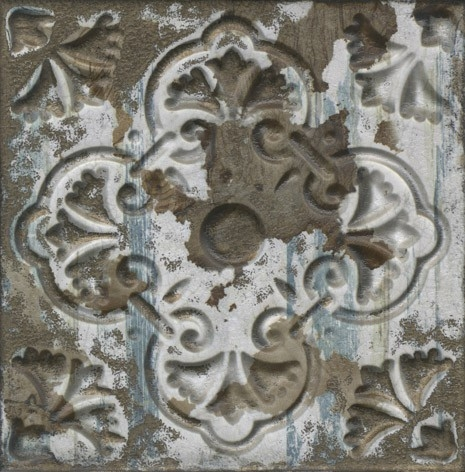 Керамическая плитка Aparici Aged Dark Ornato настенная 20х20см фото
