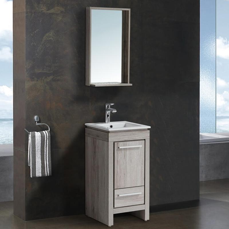 Комплект мебели для ванной Black&White Country SK-040 Дуб