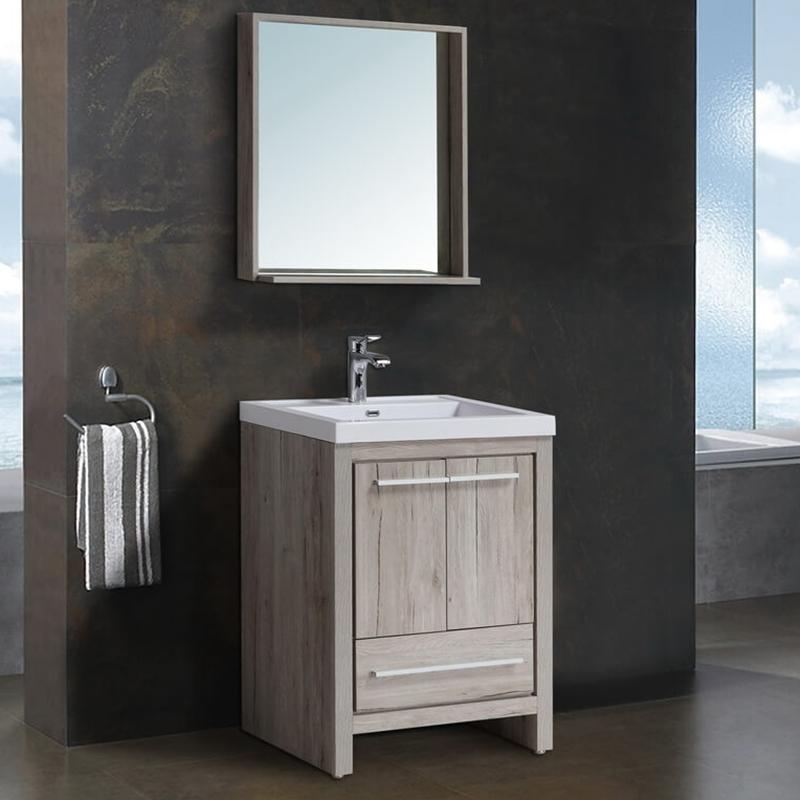 Комплект мебели для ванной Black&White Country SK-060 Дуб