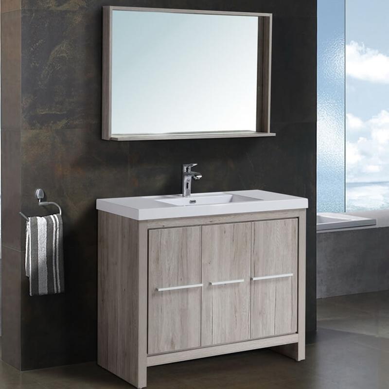 цена на Комплект мебели для ванной Black&White Country SK-100 Дуб