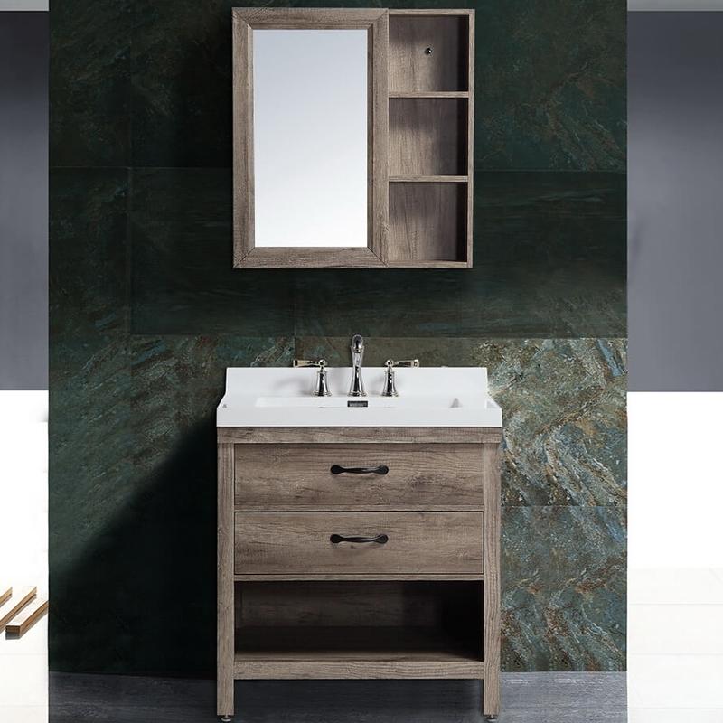 Комплект мебели для ванной Black&White Country SK-880 Дуб цена 2017