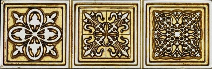 Бордюр Aparici Enigma Symbol Gold Cenefa 6.5x20см