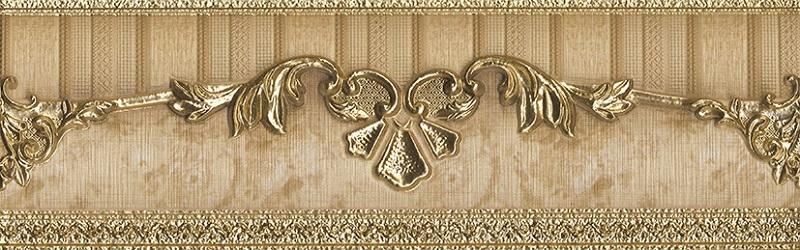 Бордюр Aparici Femme Jasmin Gold Cenefa 10x31.6см