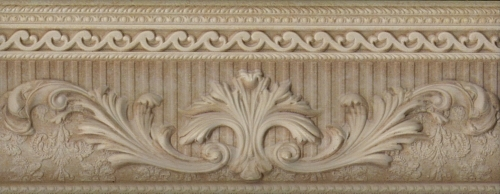 Бордюр Aparici Palazzo Ducale Beige Cenefa 10x25,1см