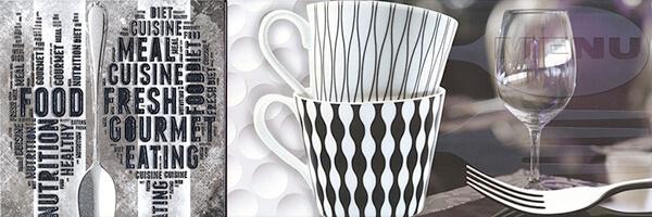 Керамический декор Aparici Solid-Check Menu Decor A 25.1х75см