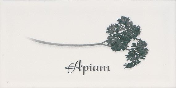 Керамический декор Ape Biselado Apium Blanco 10x20см декор ape ceramica lord marine mix blanco 20x20 см