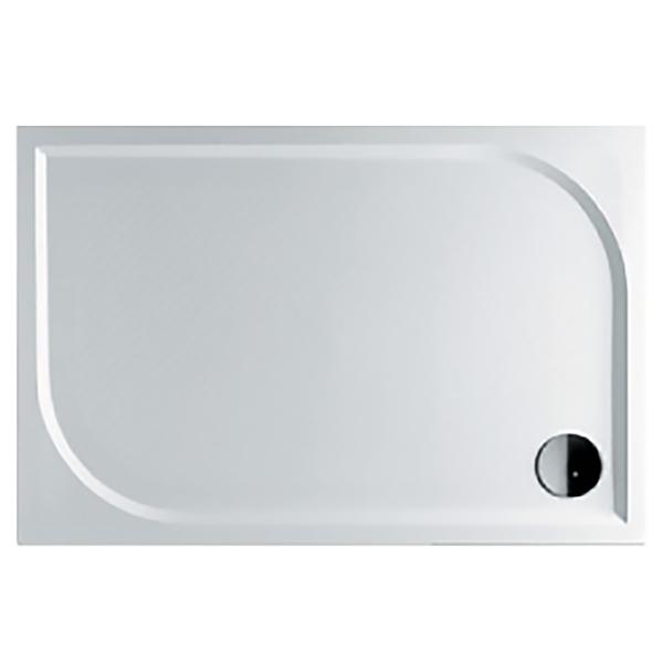 цены Душевой поддон из искусственного камня Riho Kolping DB33 80x120x3 Белый с антискользящим покрытием