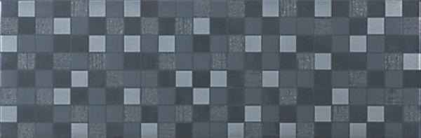 Мозаика Azuliber Gloss Infinity Antracita 20x60 см azulev museum visual ivory 20x60