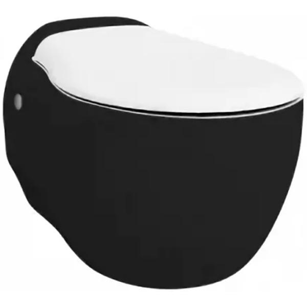 Унитаз Artceram Blend BLV001 01 50 подвесной Черный/белый