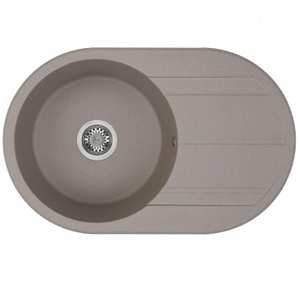 Кухонная мойка Акватон Амира 78 1A712932AI250 Серый шелк кухонная мойка weissgauff quadro 650 eco granit серый шелк