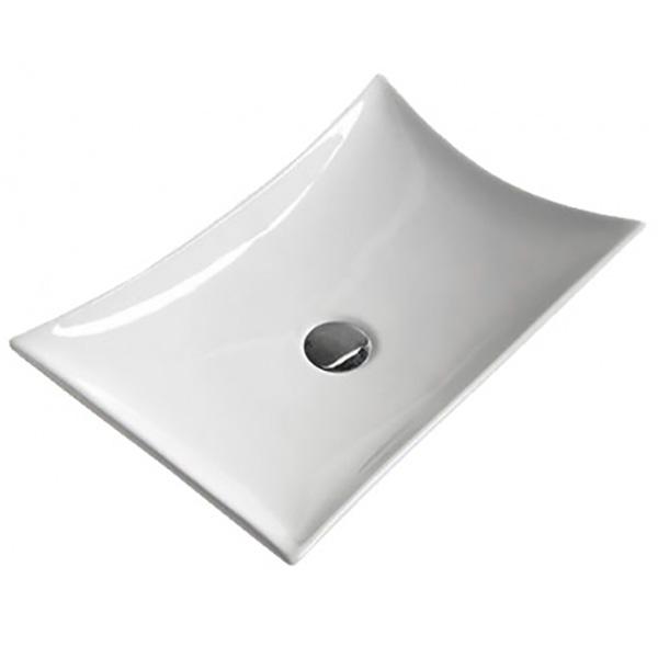 Раковина CeramaLux 57 7701B Белая