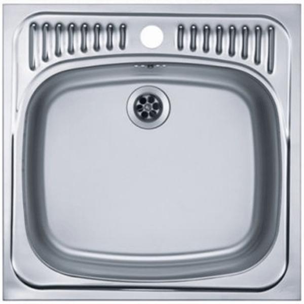 Кухонная мойка Alveus Basic 130 1008825 Нержавеющая сталь кухонная мойка alveus basic 130 1008825 нержавеющая сталь