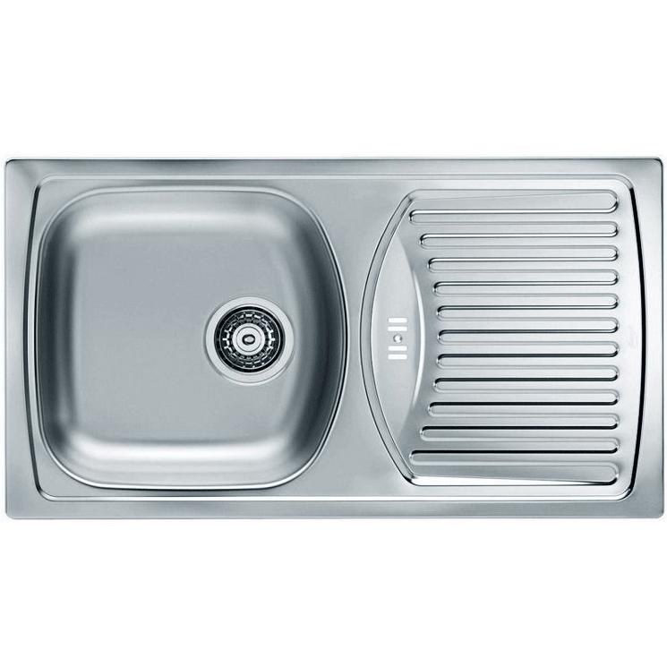 Кухонная мойка Alveus Basic 150 1138029 Нержавеющая сталь Декор кухонная мойка alveus basic 130 1008825 нержавеющая сталь